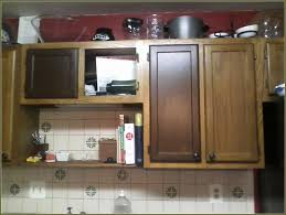resurface kitchen cabinets before and after refinishing kitchen cabinets with gel stain home design ideas