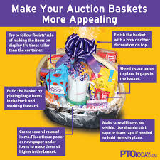 build a gift basket step by step for putting together a beautiful auction
