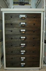 Upcycled Filing Cabinet Trash To Treasure File Cabinet Take Two Monthly Diy Challenge