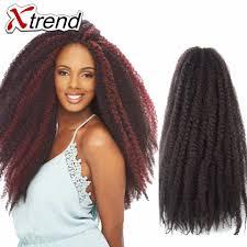 can i dye marley hair xtrend hot 18 afro kinky marley braiding hair beauty multi color