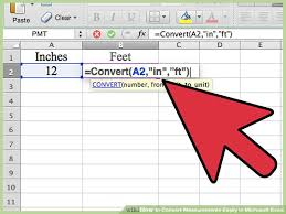8 feet in inches 3 ways to convert measurements easily in microsoft excel wikihow