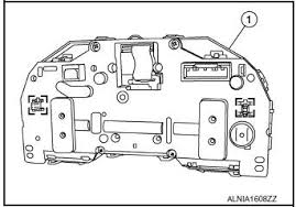 nissan rogue service manual combination meter removal and