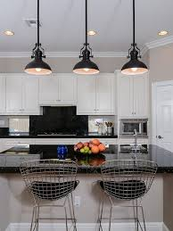 Black Pendant Lights For Kitchen Black Kitchen Pendant Lights Best Island Lighting With 9446