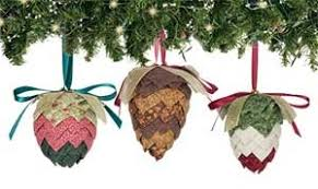 quilted pinecone ornament pattern product details
