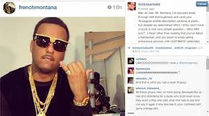 What Does Meme Mean In French - tichina arnold calls out french montana for hair mocking meme