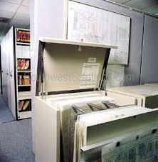 rolled blueprint storage shelving flat file cabinets plan