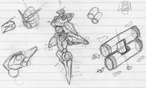 super robot sketches by android 47 on deviantart