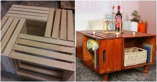 Wine Crate Coffee Table Diy by How To Make A Wine Crate Coffee Table How To Instructions
