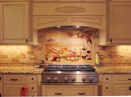 mexican tile kitchen ideas mexicantilescom kitchen backsplash with decorative mural using