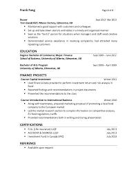 Busser Resume Sample by Frank Fang Resume