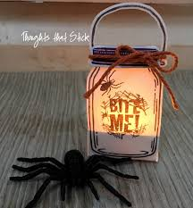 Halloween Light Show Kit by Thoughts That Stick Jar Of Love Tea Lights