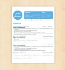 89 excellent template for a resumes