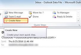 how to create a shortcut to an email template in outlook data