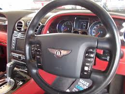 bentley steering wheel used silver bentley continental gt for sale bedfordshire