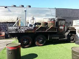 zombie survival truck random encounters with the unusual october 2013