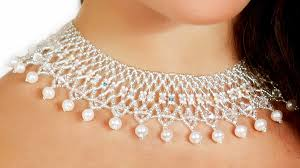 bridal beads necklace images Free patetrn for beaded necklace wedding beads magic jpg