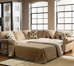 Leather Sectional Sleeper Sofa With Chaise Amazing Leather Sectional Sleeper Sofa In Sectionals Attractive