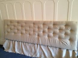 Diy Button Tufted Headboard Great Diy Upholstered Headboard With Buttons 45 In Wooden