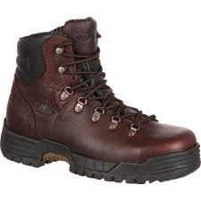 womens steel toe boots near me rocky mobilite steel toe comfort waterproof work boot