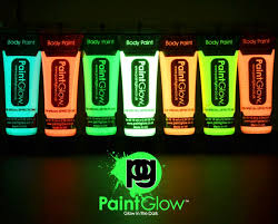 glow in the glow in the paint 10 x 10ml