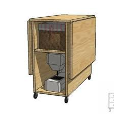 diy folding sewing table a sewing table for small spaces plans and instructions for an