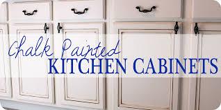 Chalkboard Ideas For Kitchen Cabinet Kitchen Cabinets Painted With Chalk Paint Chalk Paint On