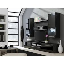 Tv Unit Storage Living Room Modern Wall Units  High Gloss - Design wall units for living room