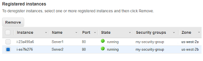 register targets with your target group elastic load balancing