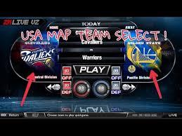 map usa nba nba 2klive v2 apk new usa map team select
