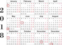 2018 ups calendar united parcel service holidays