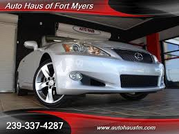 lexus for sale by owner in florida 2010 lexus is 250c convertible ft myers fl for sale in fort myers