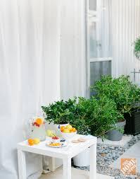 Decorating Ideas For Backyard Urban Backyard Decorating Ideas The Home Depot
