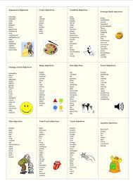 the 25 best list of adjectives ideas on pinterest list of