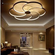 Flush Mount Led Ceiling Light Fixtures Super Thin White Led Ceiling Light Fixture Led Ring Lustre Light