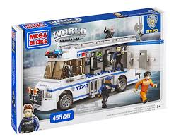 Nypd Business Cards Amazon Com Mega Bloks World Builders Nypd Mobile Command Center