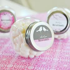 customized wedding favors design personalized candy jars