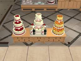 wedding cake in the sims 4 mod the sims decorative cakes