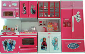 frozen big size modern kitchen set with 4 compartments musical