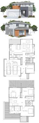 modern homes plans 1000 images about house plans contemporary modern houses on