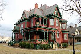 1888 queen anne mansion peoria il beautiful homes pinterest