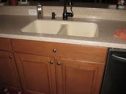 corian kitchen sink replacing a corian sink with a farmhouse sink hometalk