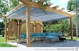 outdoor awning fabric 15 cozy outdoor spaces with fabric canopy home design lover