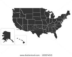 map usa jpg free us map silhouette vector