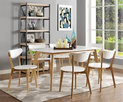 dining room mid century modern dining table round with mid