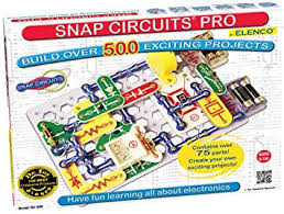 amazon pro amazon com snap circuits pro sc 500 electronics discovery kit