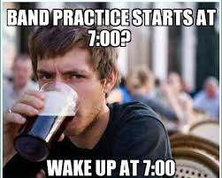 Band Practice Meme - the importance of band practice owl eyes