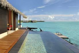 Beach Houses On Stilts by One U0026only Reethi Rah Water Villa Pool King