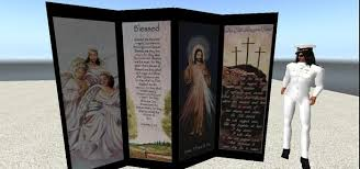 Privacy Screen Room Divider by Second Life Marketplace Religious Privacy Screen Room Divider