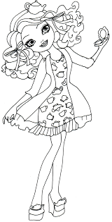 free ever after high coloring pages 2014