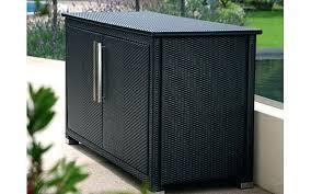 outdoor wicker storage cabinet outdoor wicker storage cabinet mezzo outdoor wicker storage console